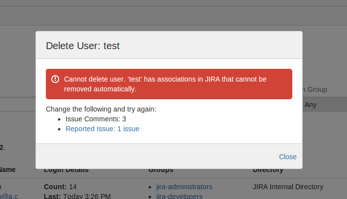 how to delete an issue in jira