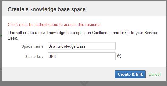 jsdserver 32 error when creating a knowledge base from within jira rh jira atlassian com