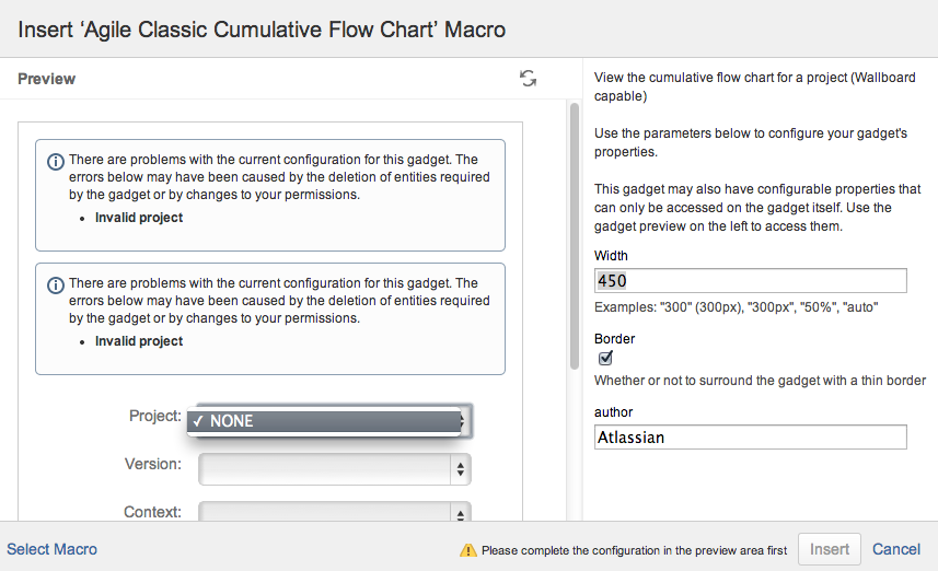 Confserver 32189 agile macros broken in confluence create and agile classic cumulative flow chart macrog ccuart Images
