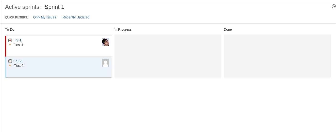 JSWSERVER-12175] Display First Initial avatar alongside