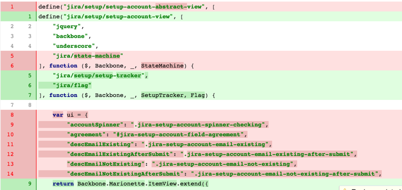CRUC-7462] Diff colors - Create and track feature requests