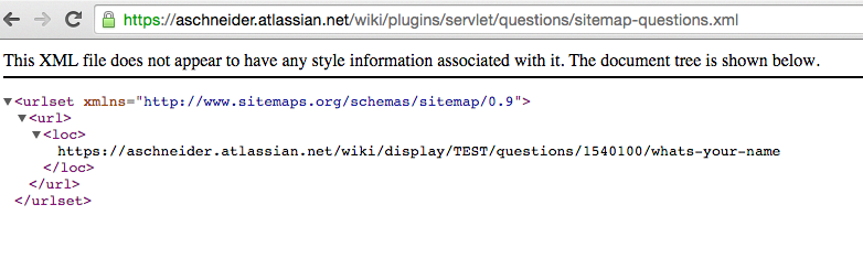 confserver 47008 confluence questions exposes a public sitemap