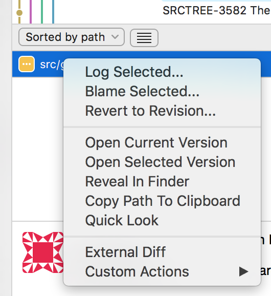 a541e0843c SRCTREE-2867  Log view cannot open external diff - Create and track ...