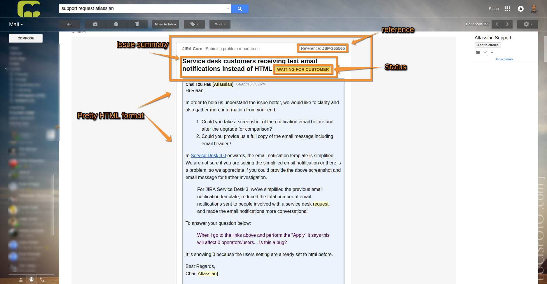 JSDSERVER-2307] Email notification template changes in Service Desk ...