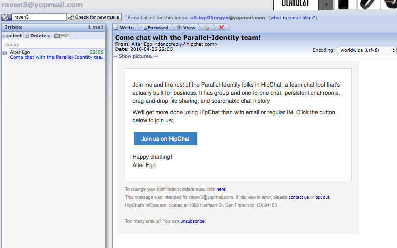 HCPUB-648] Clicking on the Invite Request link yields