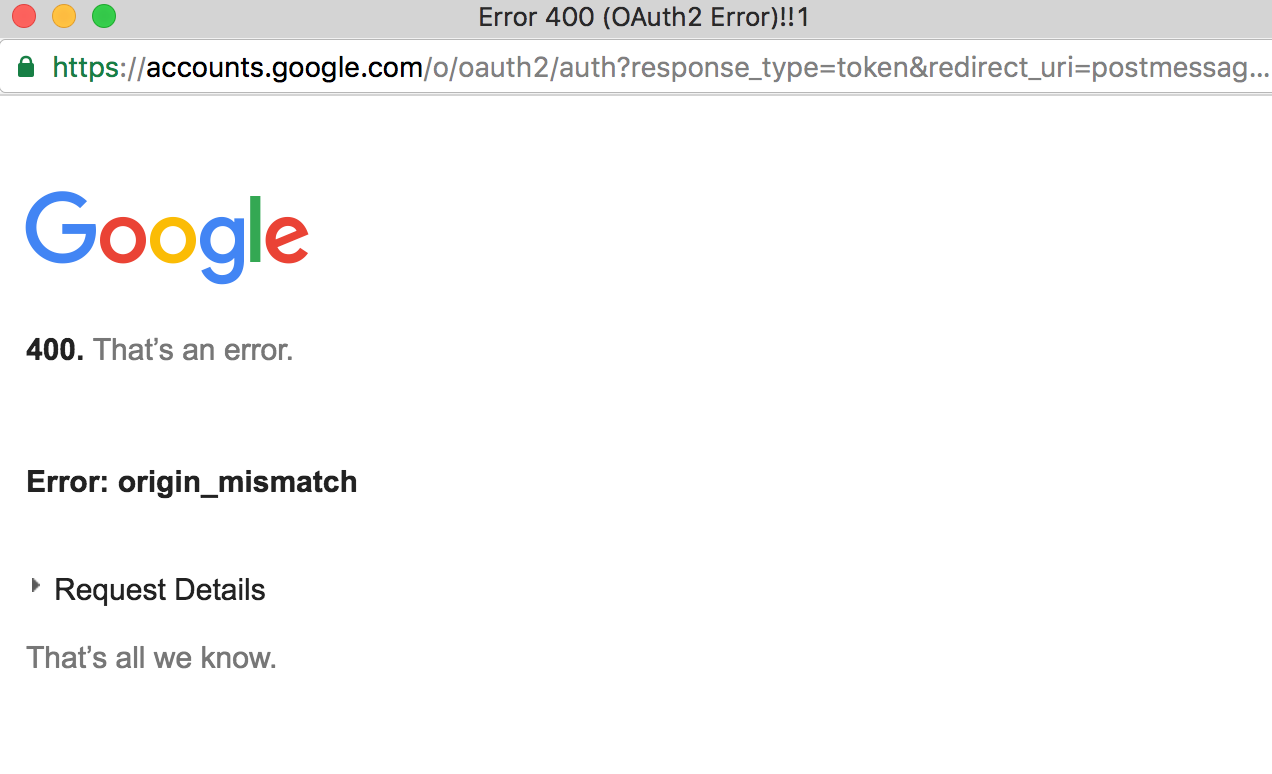 HCPUB-1945] Google Hangout integration fails to start - Create and