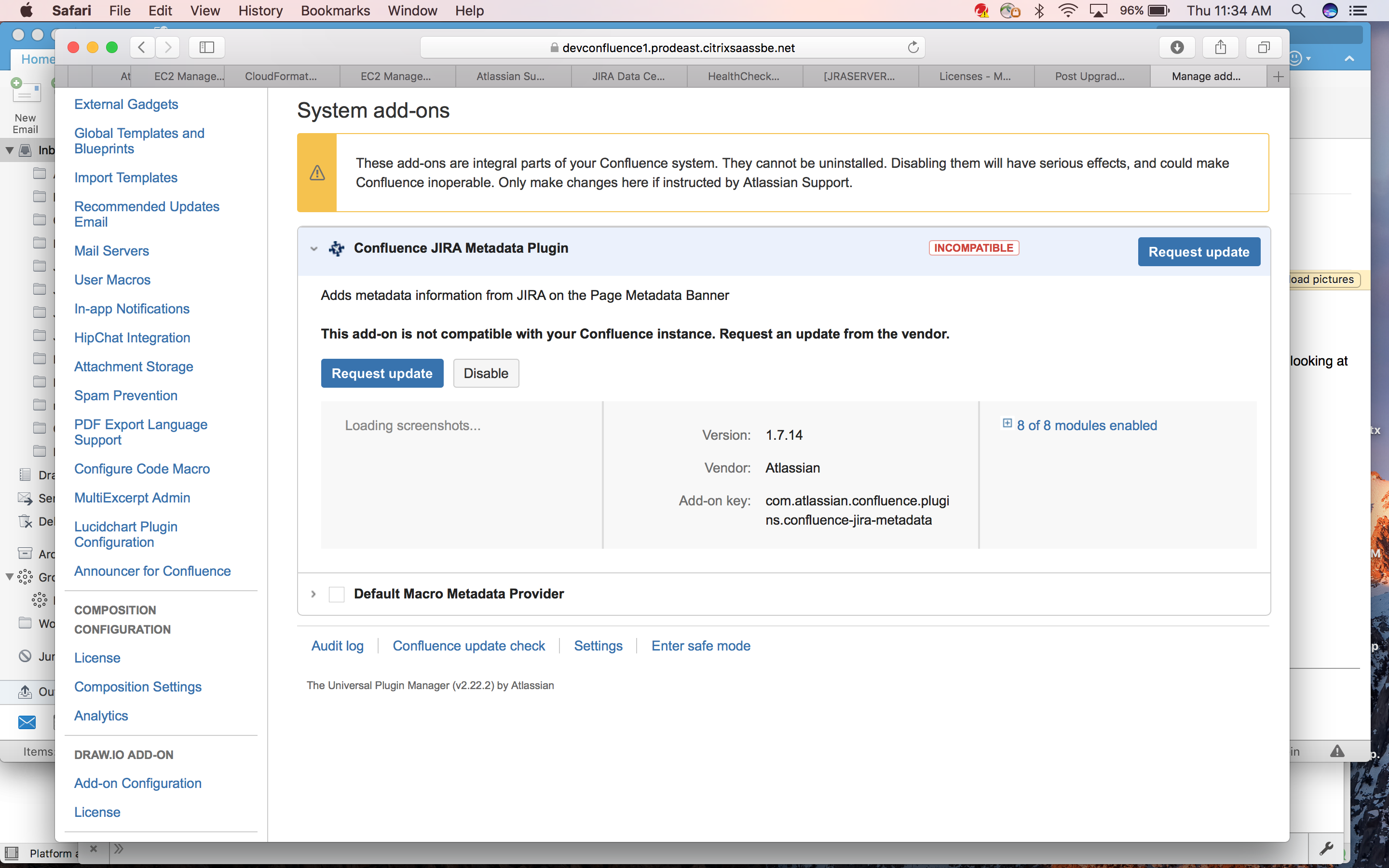 how to create jira ticket from confluence