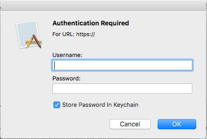 encryption password is nil. cannot save
