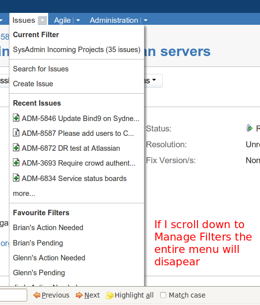 how to create a scroll down menu in excel