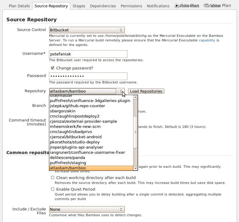 bitbucket how to create repository