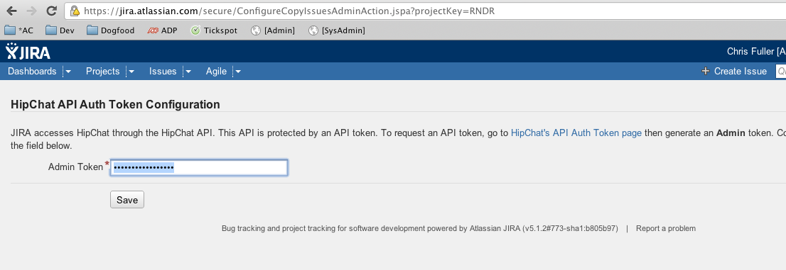 how to create a default reporter jira