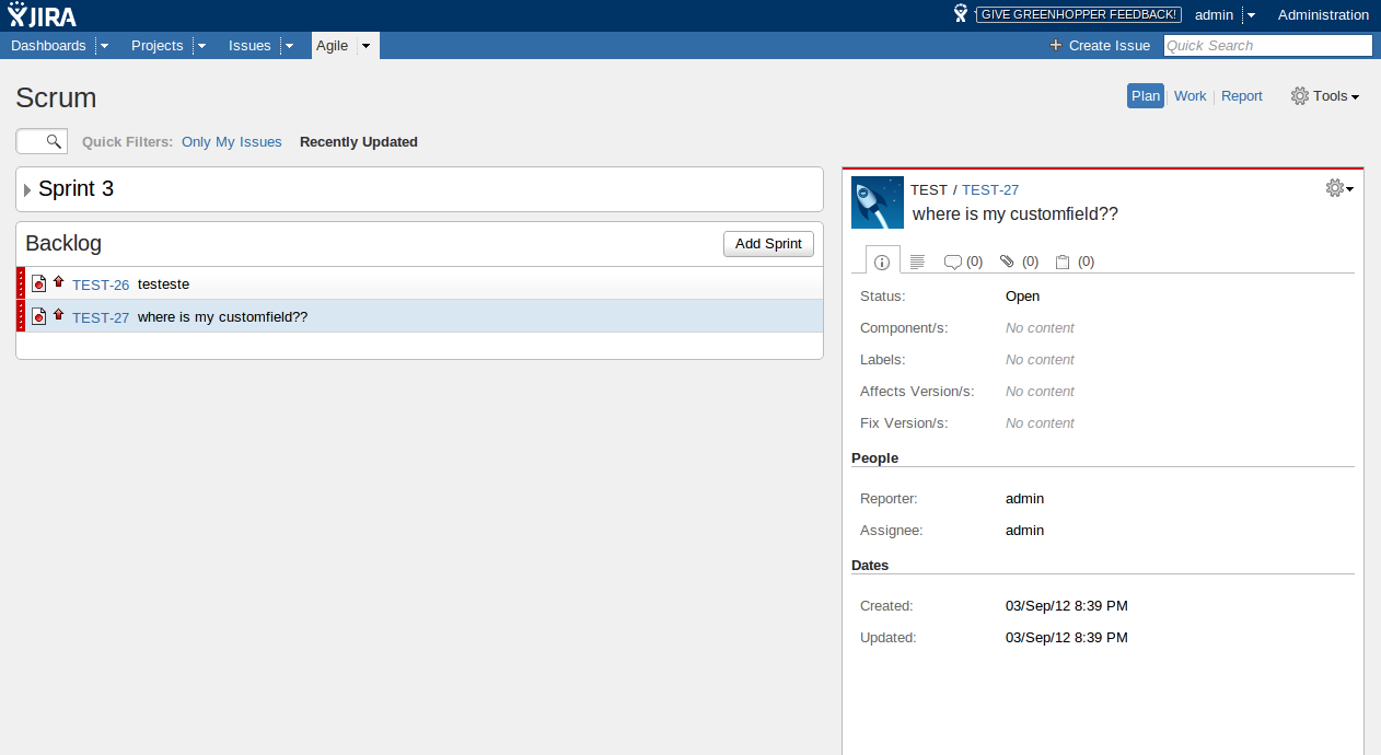 how to create board in jira for select users