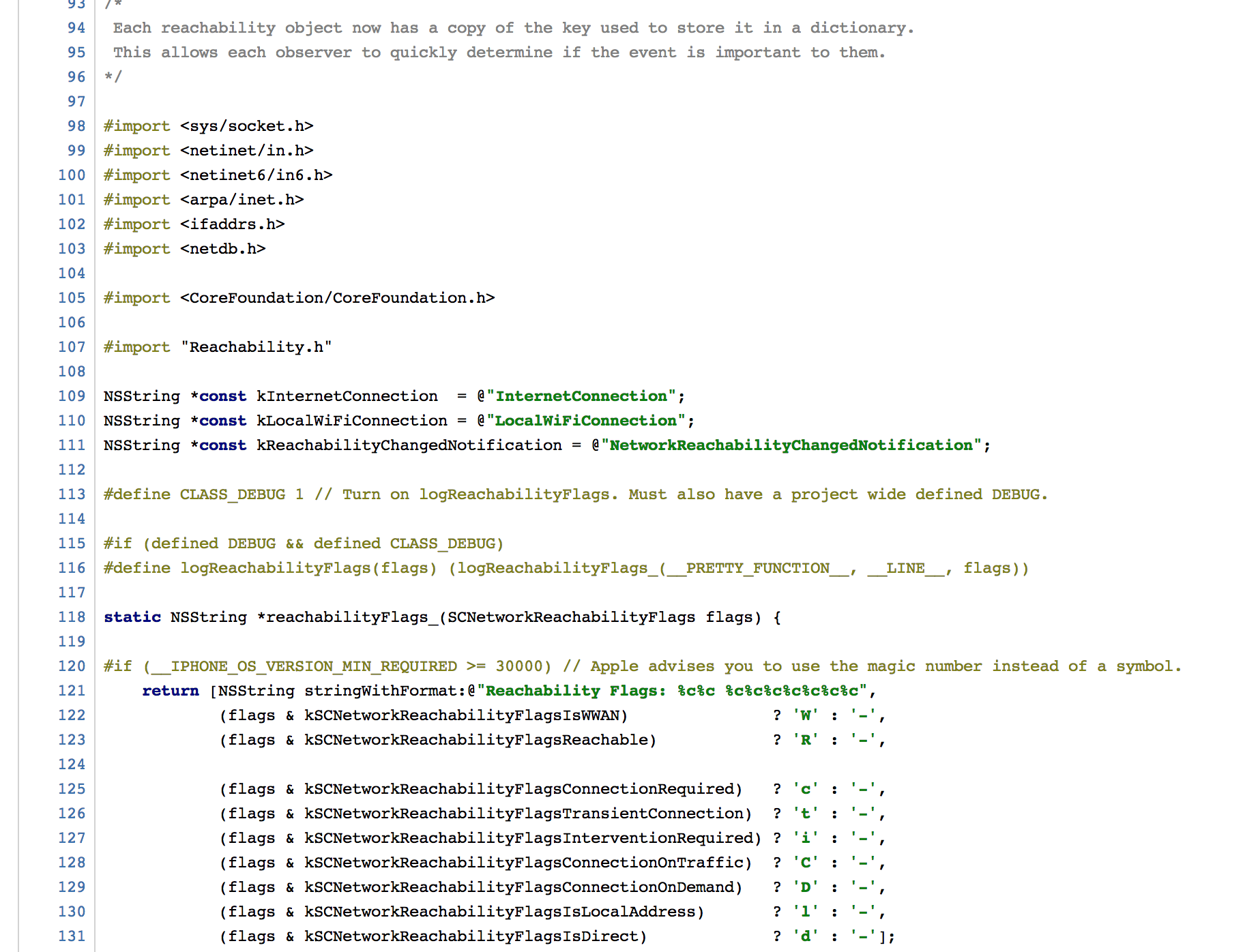 bserv support objective c syntax highlighting in h files see for example objective c example png