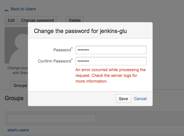 how to change password as administrator